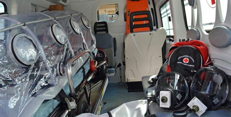 EBOLA - A Fiumicino pronte attrezzature speciali ad alto bio-contenimento