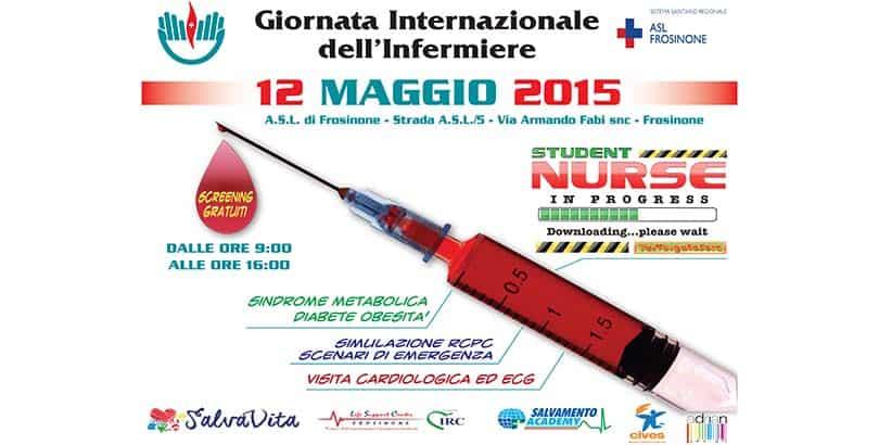 Giornata Internazionale dell'Infermiere - 12 Maggio 2015