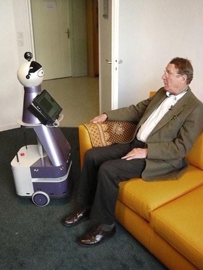 MARIO, il robot concepito per combattere la demenza senile