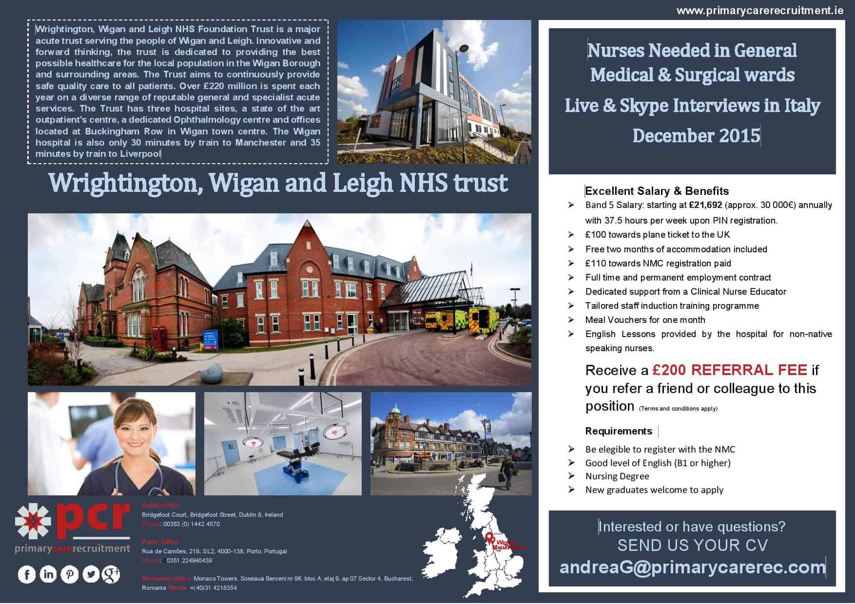 Prmary Care Recruiting - Opportunita' di lavoro per Infermieri nel Regno Unito - 3