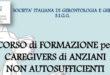 In 40 ore la Società Italiana di Geriatria e Gerontologia forma badanti sugli Atti Assistenziali Semplici