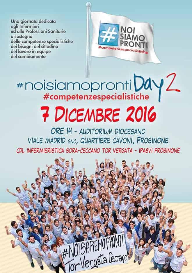 #noisiamopronti Day2 il 7 Dicembre. La manifestazione per dire si al cambiamento